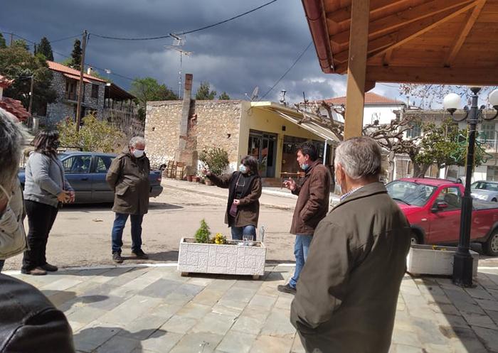 Περιοδεία της Λαϊκής Συσπείρωσης σε Χαιρώνεια & Πρ. Ηλία Λιβαδειάς για την αποτροπή της εγκατάστασης φωτοβολταϊκών στην περιοχή