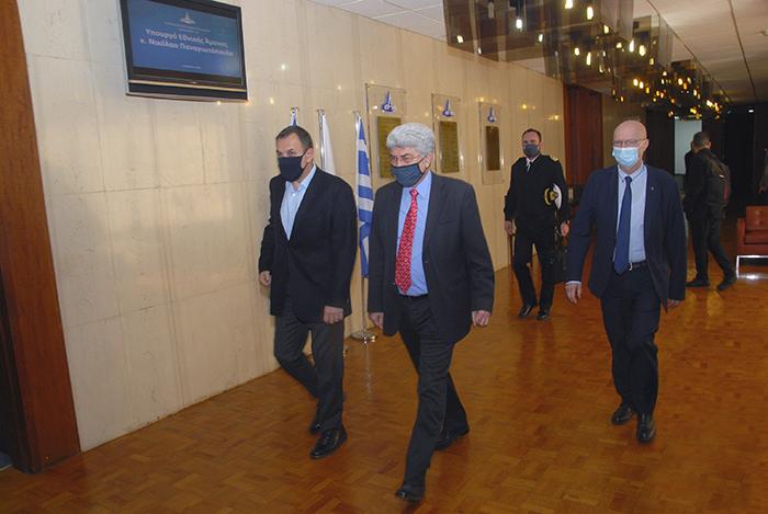 Ο Υπουργός Εθνικής Άμυνας ενημερώθηκε για την πρόοδο των έργων του ΥΕΘΑ