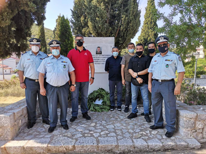 Μνημόσυνο Ανθ/μου Ανδριτσόπουλου Γεωργίου – Οχτώ χρόνια εκδηλώσεις μνήμης και τιμής από την Ένωση Αστυνομικών Υπαλλήλων Βοιωτίας