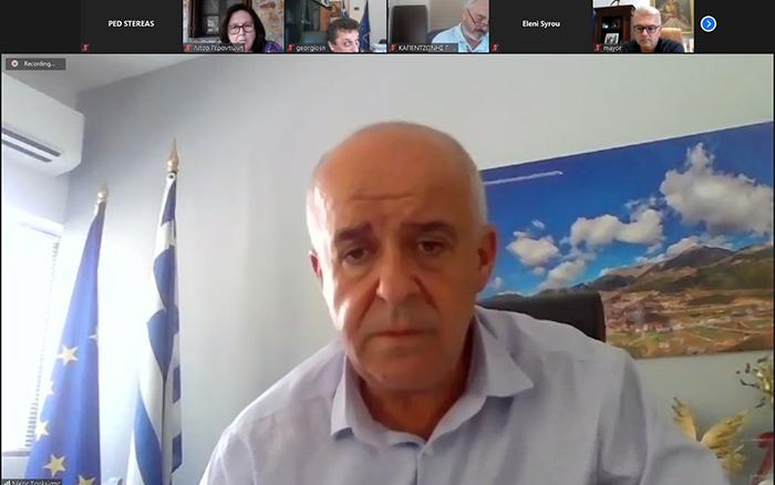 """"""" Ανακοίνωση μέτρων και πρωτοβουλιών της Π.Ε.Δ. Στερεάς Ελλάδας για τη στήριξη των πυρόπληκτων Δήμων"""""""