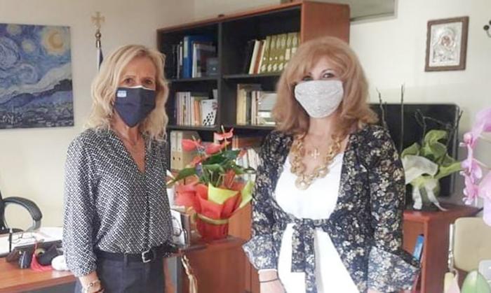 Συναντήσεις Γιώτα Πούλου, με την Διευθύντρια Πρωτοβάθμιας και τον Διευθυντή Δευτεροβάθμιας Εκπαίδευσης Βοιωτίας
